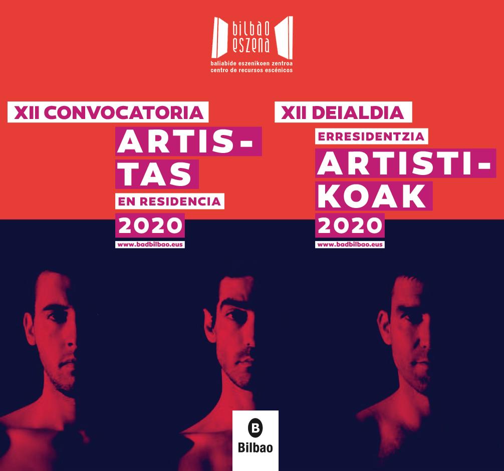 portada artistas residencia 2020